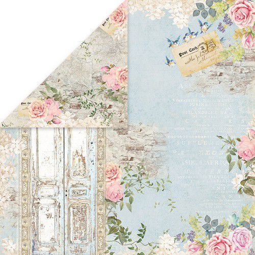 Craft&You Gone with the Wind Scrapbooking single paper 12x12 CP-GWW05 (09-20)