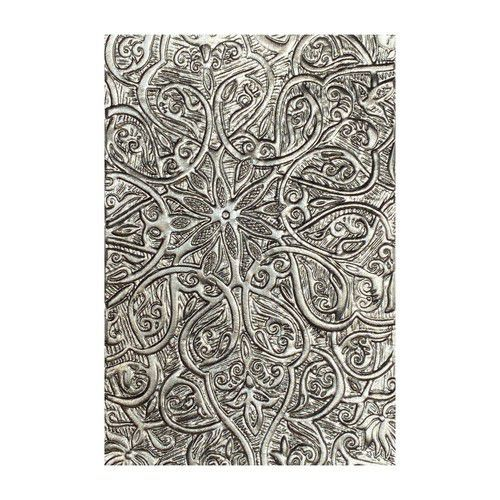 Sizzix 3-D Texture Fades Embossing Folder - Engraved 664249 Tim Holtz (10-20)