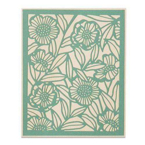 Sizzix Thinlits Die - Minimal Foliage 664498 Sophie Guilar (10-20)
