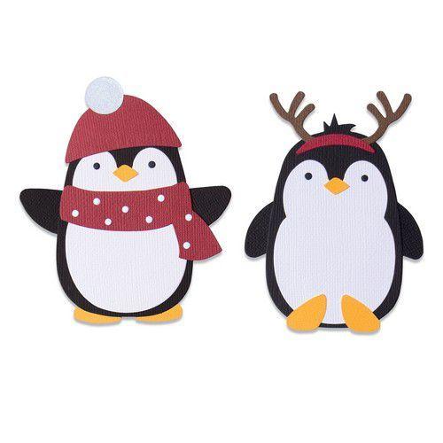 Sizzix Bigz Die - Penguin Friends 664499 Olivia Rose (10-20)