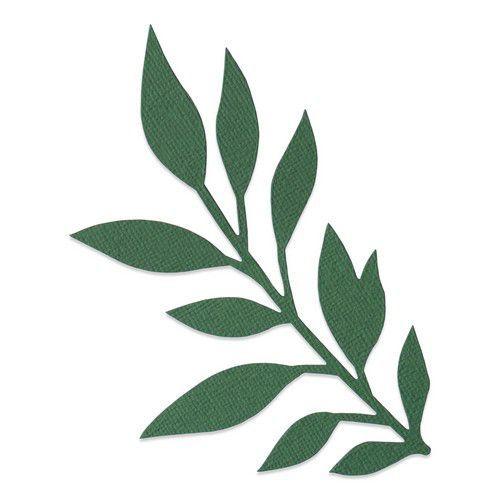 Sizzix Bigz Die - Gathered Leaves 664502 Jen Long (10-20)