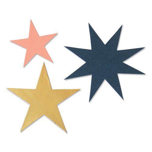 Sizzix Bigz Die - Winter Stars 664503 Olivia Rose (10-20)