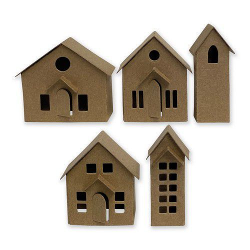 Sizzix Thinlits Die Set - 16PK Paper Village 664741 Tim Holtz (10-20)