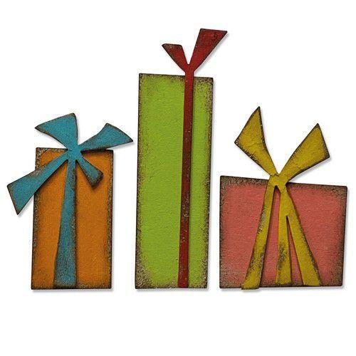 Sizzix Bigz Die - Gift Wrap 664973 Tim Holtz (10-20)