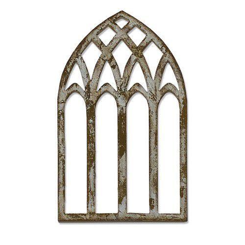 Sizzix Bigz Die - Cathedral Window 664974 Tim Holtz (10-20)