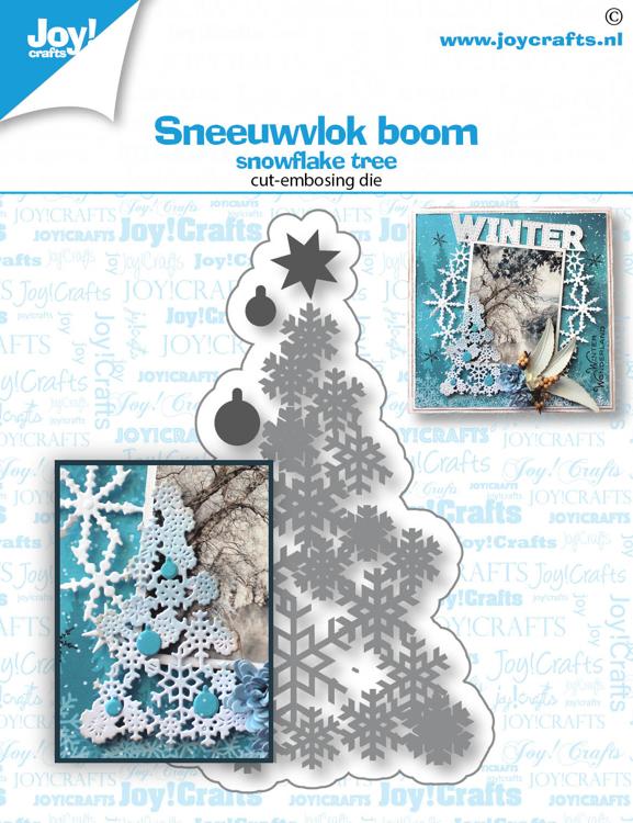 Stans-embosmal- Sneeuwvlok boom