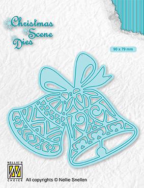 CRSD016 Christmas Scene Dies Bells