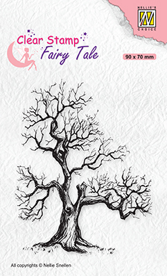 FTCS018 Clear stamps Fairy Tale nr. 16 Elves tree