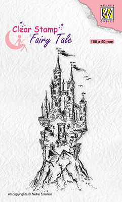 FTCS017 Clear stamps Fairy Tale nr. 15 Elves castle