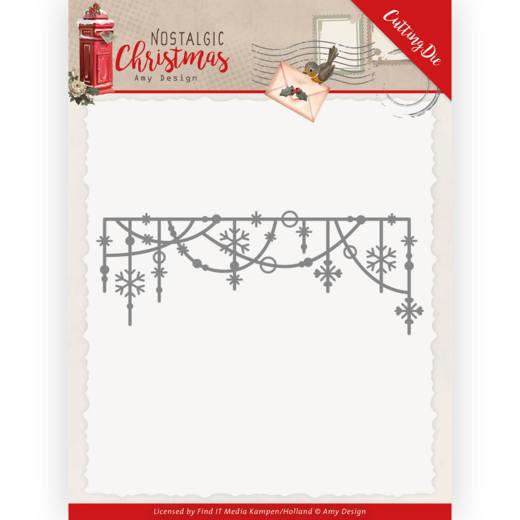 Dies - Amy Design - Nostalgic Christmas - Hanging Snowflakes