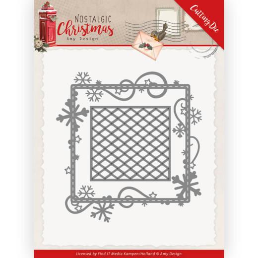 Dies - Amy Design - Nostalgic Christmas - Snowflake Frame