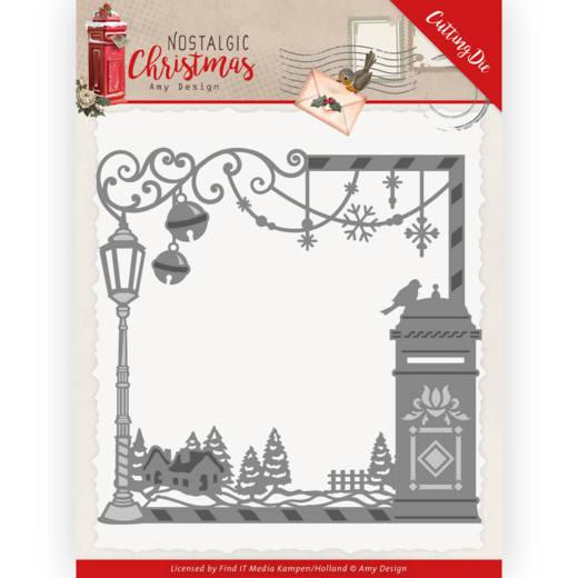 Dies - Amy Design - Nostalgic Christmas - Christmas Mail Box