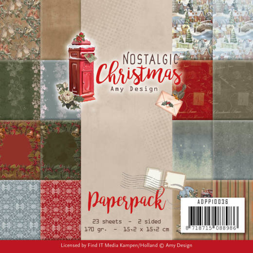 Paperpack - Amy Design - Nostalgic Christmas
