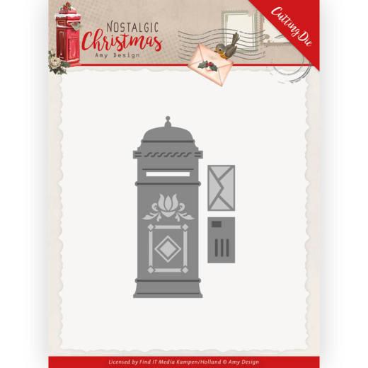 Dies - Amy Design - Nostalgic Christmas -  Mail Box