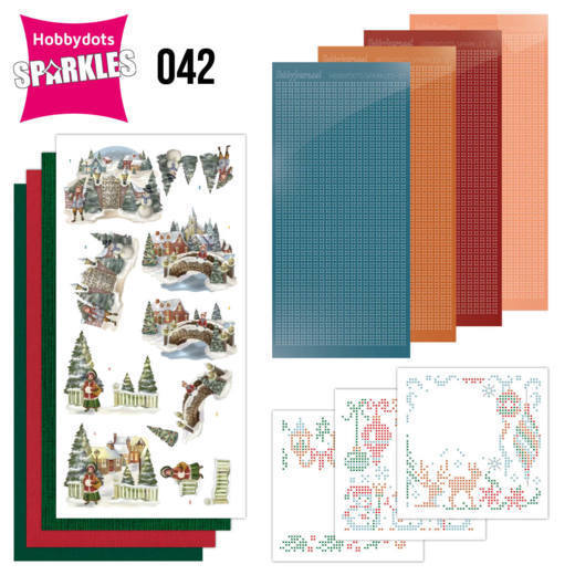 Sparkles Set 42 - Amy Design - Nostalgic Christmas - Christmas Village