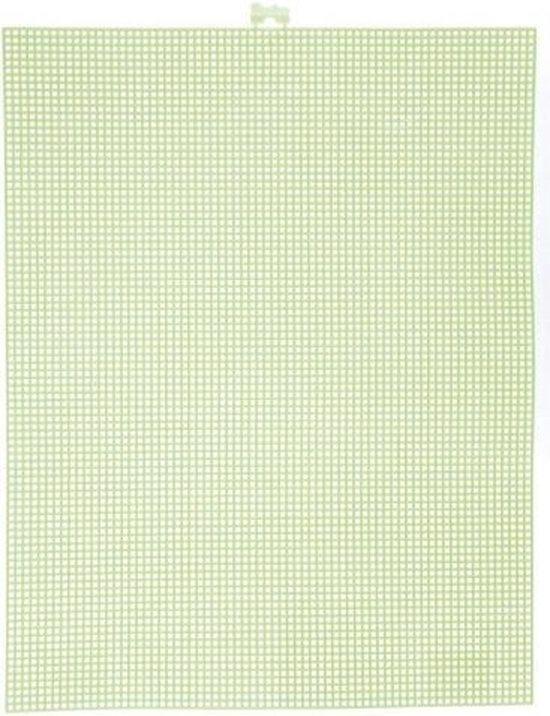 Darice  Plastic Stramien 26x34cm Groen Mesh:7
