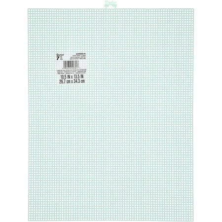 Darice  Plastic Stramien 26x34cm Licht Groen Mesh:7