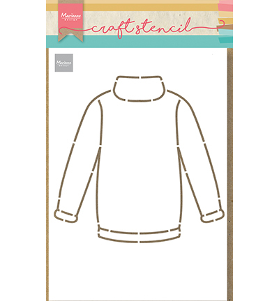 Craft Stencil - Craft stencil Sweater