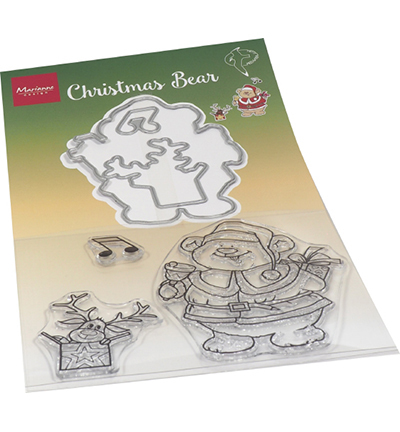 Stamp + die set - Hetty's Christmas bear
