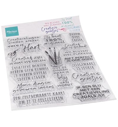 Clear Stamps - Creatieve groetjes