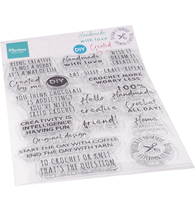 Clear Stamps - Crafting sentiments