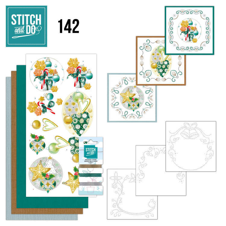 Stitch and Do 142 -Jeanine's Art - Christmas Baubles