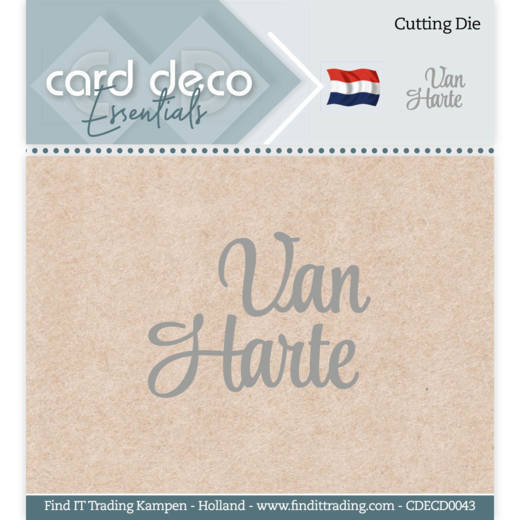 Card Deco Essentials - Cutting Dies - Van Harte