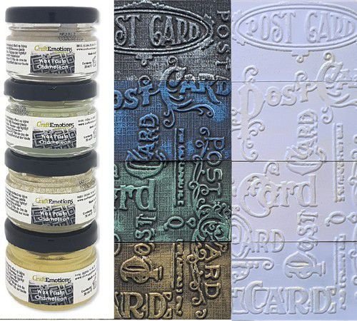 CraftEmotions Wax Paste chameleon 1 4x20 ml /4150 /4250 /4350 /4900 (10-20)