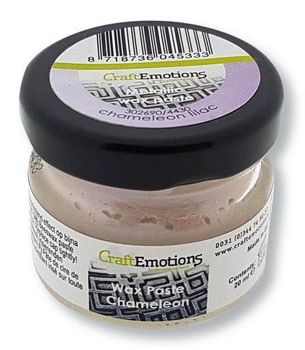 CraftEmotions Wax Paste chameleon - lila 20 ml (09-20)