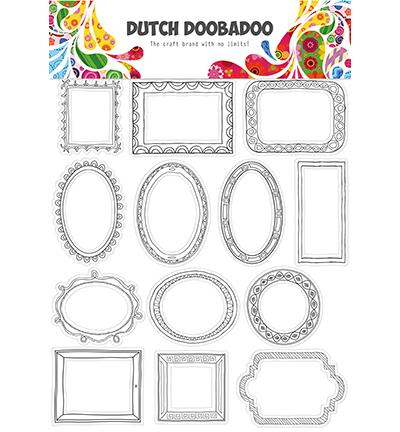 DDBD Dutch buzz cut art Doodle frames