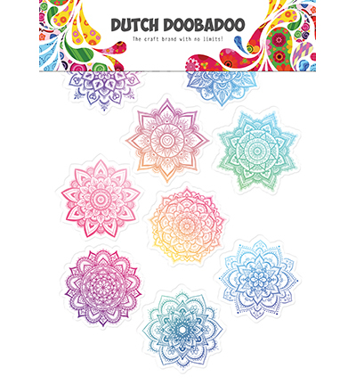 DDBD Dutch Sticker Art Mandala