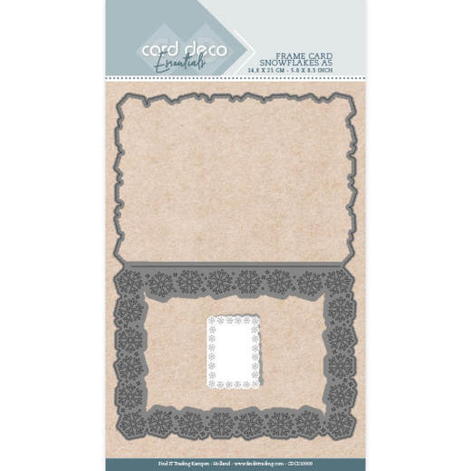 Card Deco Essentials - Cutting Dies - Snowflakes A5