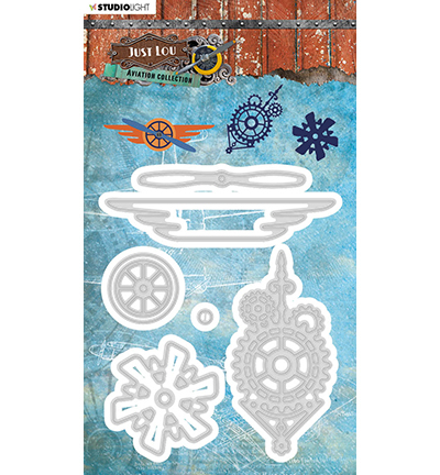 Just Lou - Cutting & Embossing Die - Aviation Collection - nr.15