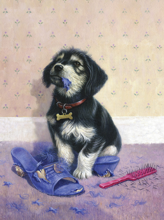 Painting by numbers BAD PUPPY