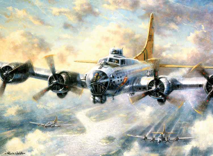 Painting by numbers FLYING FORTRESS