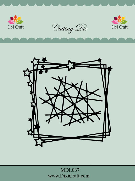 Dixi Craft Star Frame Dies (MDL067)