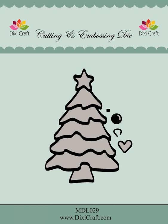 Dixi Craft Christmas Tree Metal Dies (MDL029)