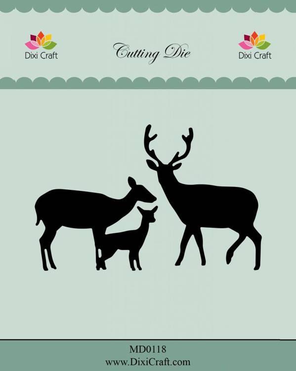 Dixi Craft Deer Family