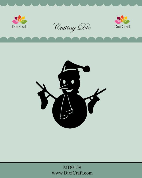Dixi Craft Snowman 1 Dies (MD0159)