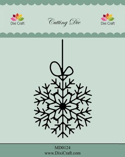 Dixi Craft - Die - Hanging Snow Crystal - MD0124