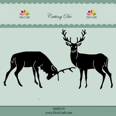 Dixi Craft - Die - Reindeers - MD0119