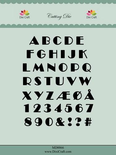 Dixi Craft - Die - Alphabet