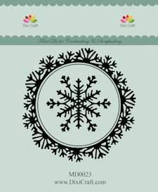 MD0023 - Dixi mal snowcrystal frame 3x