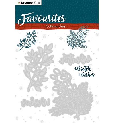 Studio Light - Cutting Die - Winter's Favourites - nr.336