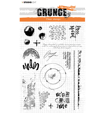 Studio Light - Clear Stamp - Grunge Collection - nr.503