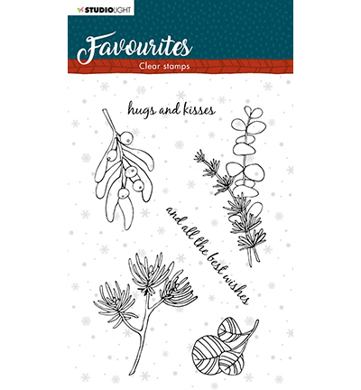 Studio Light - Clear Stamp - Winter's Favourites - nr.504