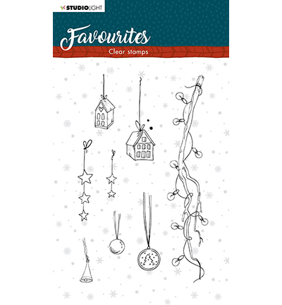 Studio Light - Clear Stamp - Winter's Favourites - nr.507