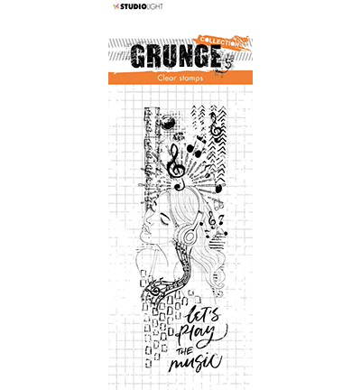 Studio Light - Clear Stamp - Grunge Collection - nr.498