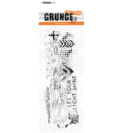 Studio Light - Clear Stamp - Grunge Collection - nr.494