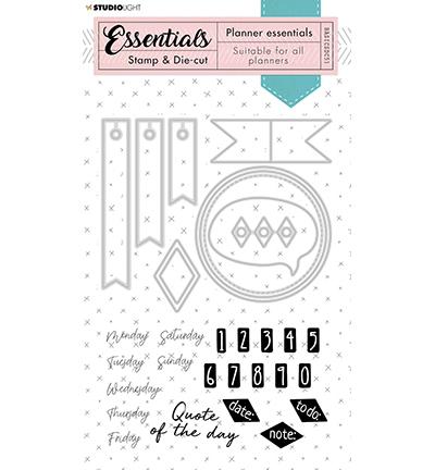 Studio Light - Stamp & Die-cut - Essentials - nr.51